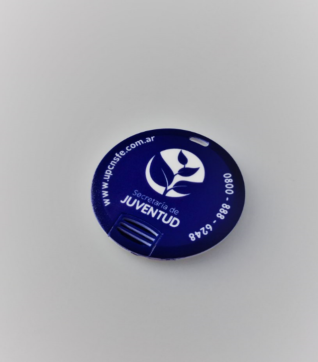 Round USB Cards Branded