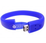 Branded Silicon Wristband Flashdrive