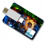 Full Colour Credit Card Flash Drive