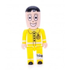 Cheap USB People Flashdrives Branded