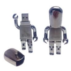 Printed Metal USB People