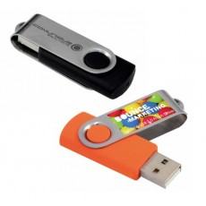 24 Hour Turnaround Swivel USB Drives