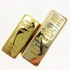 XL Gold Bar Fast Branded USB