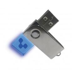 Light Up Swivel USB Memory