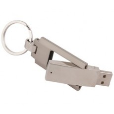 Twist Key Ring Flash Drive