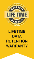 Life Time Data Retention Warranty
